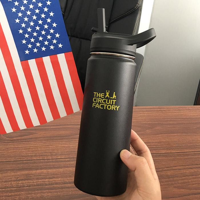 custom water bottle co-brand