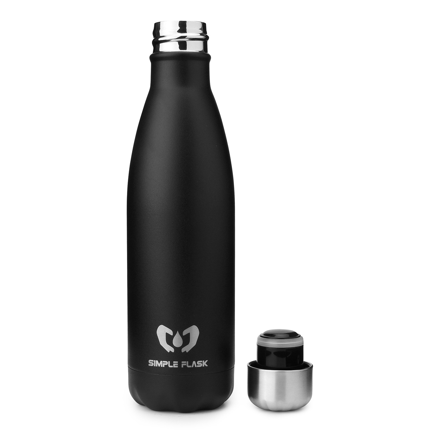 cola shaped stainless steel water bottle