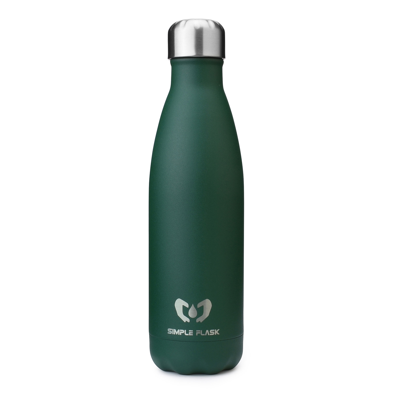 stainless steel water bottle 17oz