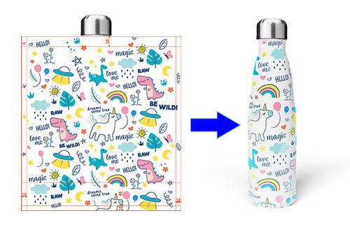 custom water bottle transfer printing