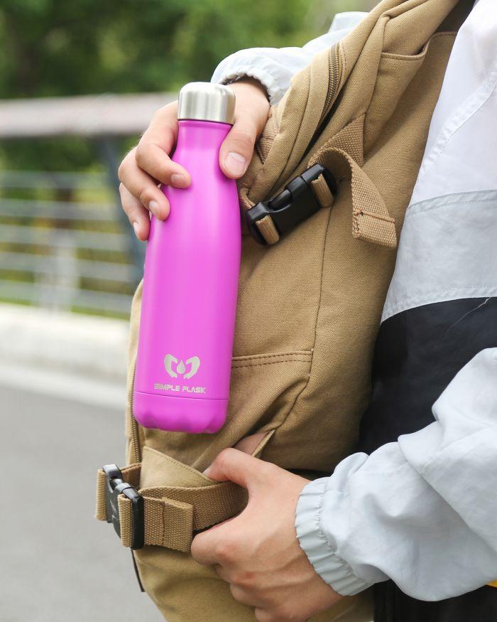 simple flask bottle
