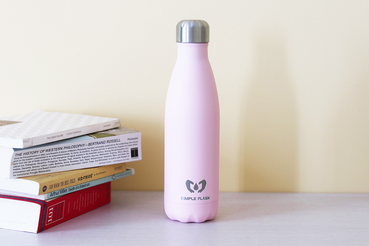 Simple Flask stainless water bottle