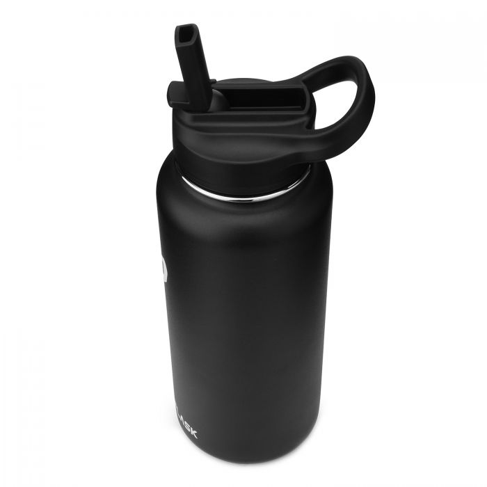 simple flask water bottle 32 oz
