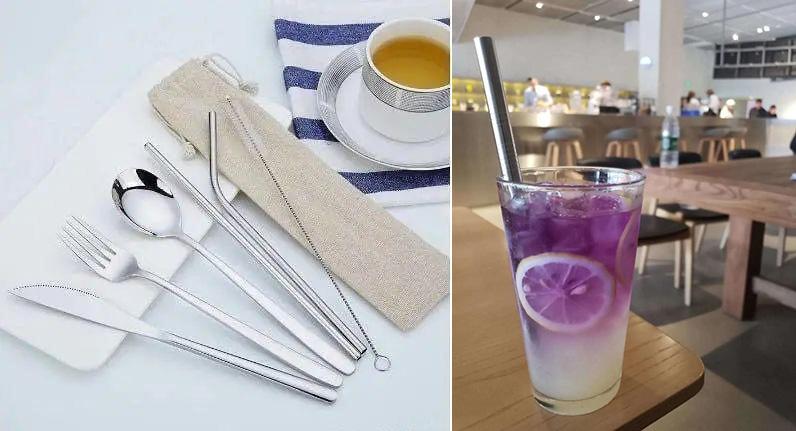 reusable metal straw